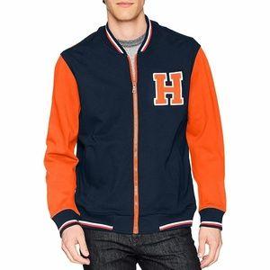 *NEW Tommy Hilfiger Men's XL Jacket Retro Varsity